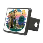 St Francis #2/ S Husky #2 Rectangular Hitch Cover