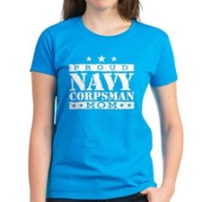 Navy Corpsman Mom Tee