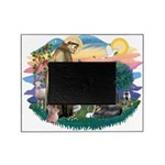 St.Francis #2/ Tibetan Spani Picture Frame