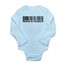 barcode.png Long Sleeve Infant Bodysuit