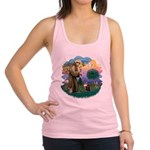 St. Fran (ff) - Maine Coon (# Racerback Tank Top