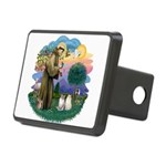 St Fran(f) - 2 Ragdolls Rectangular Hitch Cover