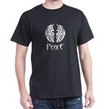 Tribal Art 5 Black T-Shirt