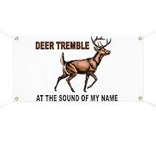 DEER TREMBLES Banner