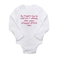 Papp wrapped around fingers Body Suit