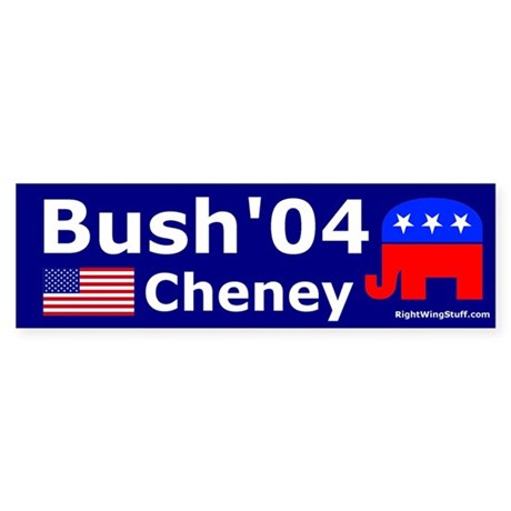 Bush-Cheney Bumper Sticker