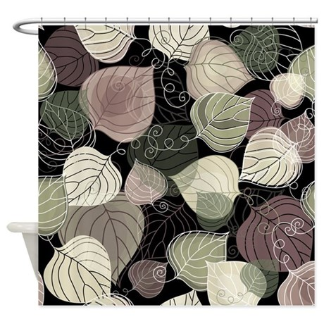 Curtains Ideas apt 9 shower curtain : 17 Best images about leaf shower curtain on Pinterest | Brown ...