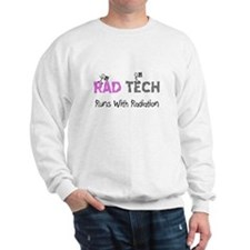rad tech pink.PNG Sweatshirt