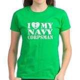I Love My Navy Corpsman Tee
