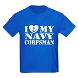 I Love My Navy Corpsman T