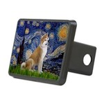 Starry - Akita3 Rectangular Hitch Cover