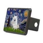 Starry-Am. Eskimo Dog Rectangular Hitch Cover