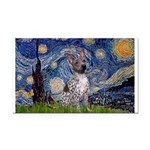 Starry-AmericanHairless T Rectangle Car Magnet