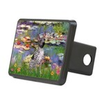 Lilies2-Am.Hairless T Rectangular Hitch Cover