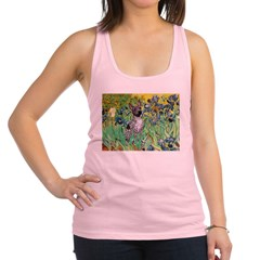 Irises-Am.Hairless T Racerback Tank Top