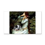 Ophelia - Aussie Cattle Pup Rectangle Car Magnet