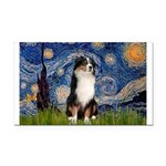 Starry - Tri Aussie Shep2 Rectangle Car Magnet