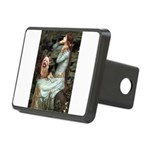 Ophelia-Aussie Terrier Rectangular Hitch Cover