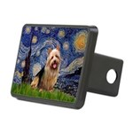Starry-AussieTerrier Rectangular Hitch Cover