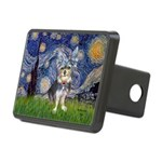 Starry-AussieTerrier2 Rectangular Hitch Cover