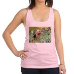 Irises - Aussie Terrier Racerback Tank Top