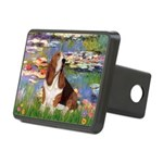 Lilies & Basse Rectangular Hitch Cover