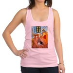 Room with a Basset Racerback Tank Top