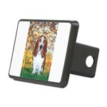 Monet's Spring & Basset Rectangular Hitch Cover