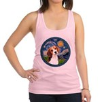 Starry Night Beagle #1 Racerback Tank Top
