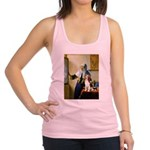 Woman w/Pitcher - Beagle Racerback Tank Top