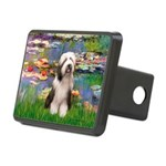 Lilies / Beardie #1 Rectangular Hitch Cover