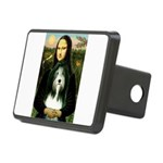 Mona / Bearded Collie Rectangular Hitch Cover