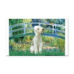 Bridge / Bedlington T Rectangle Car Magnet