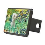 Irises /Bedlington T Rectangular Hitch Cover