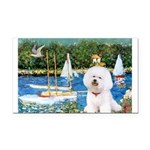 Sailboats (1) Rectangle Car Magnet