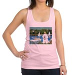 Sailboats (1) Racerback Tank Top