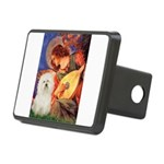 Mandolin Angel & Bolognese Rectangular Hitch Cover
