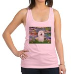 Lilies (#2) & Bolognese Racerback Tank Top