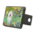 Irises & Bolognese Rectangular Hitch Cover