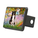 Garden & Border Collie Rectangular Hitch Cover