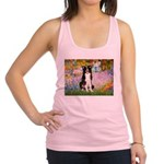 Garden & Border Collie Racerback Tank Top