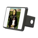 Mona & Border Collie Rectangular Hitch Cover