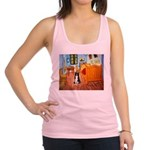 Room with Border Collie Racerback Tank Top