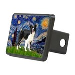 Starry / Border Collie (Z) Rectangular Hitch Cover