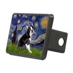 Starry Night Boston Ter Rectangular Hitch Cover