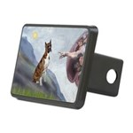 Creation...& Brindle Rectangular Hitch Cover