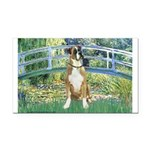 Bridge & Boxer Rectangle Car Magnet