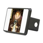 The Queen & her Boxer Rectangular Hitch Cover