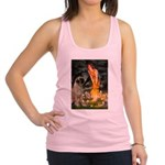 Fairies / Bullmastiff Racerback Tank Top