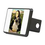 Mona /Bullmastiff Rectangular Hitch Cover